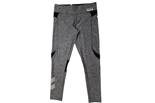 Victoria's Secret PINK Black/Grey Ultimate Workout Yoga Pants (Large)