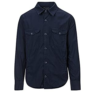 Save Khaki Men's Shirt Jacket SK848-UL Navy SZ M