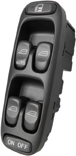 New 1998-00 S70 Power Window Master Control Switch Volvo (1998 1999 2000 98 99 00 Drivers Side, Power, Button, Panel, Door, Lock)