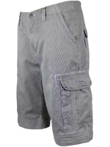 Mens Cargo Shorts Pin Striped Tokyo Laundry Combat