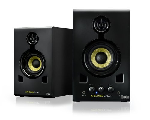 Hercules Dj 4769226 Hercules Xps 2.0 60 Dj Set Monitor Speakers (Black)