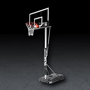 Buy Spalding Hercules Portable Basketball Hoop with 52-Inch Acrylic Backboard by Spalding