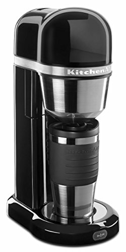 KitchenAid KCM0402OB Personal Coffee Maker, Onyx Black