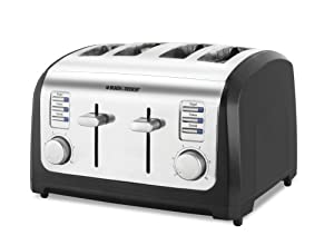 Black & Decker T4030 4-Slice Toaster