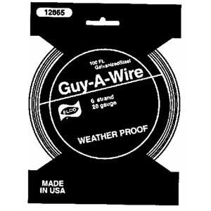 The Hillman Group 122070 20-Gauge Galvanized Stranded Wire, 100-Feet