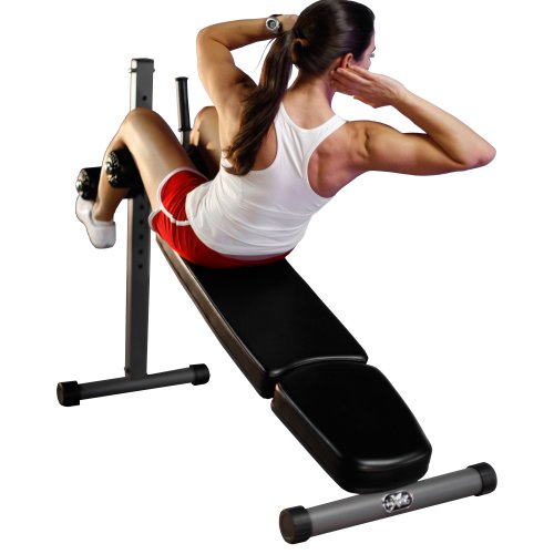 XMark Commercial 12 Position Adjustable Ab Bench XM-7608