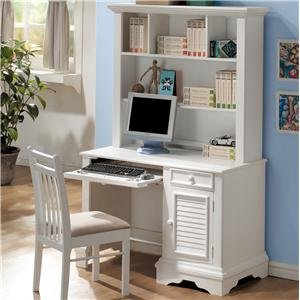 Buy Low Price Comfortable Traditional Student Computer Desk with Hutch (B0041P9EJ8)