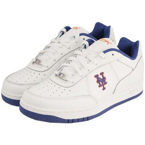 Cheap Reebok New York Mets White Clubhouse Exclusive Sneaker (B001A7E8IM)