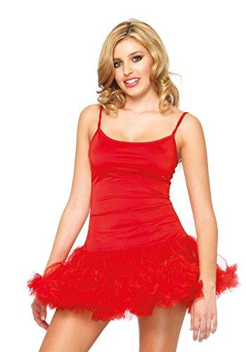 83609 - Petticoat Kleid Rot Damen Karneval Kostüm Fasching, S/M (EUR 36-38)