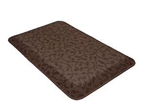 GelPro New Life Ergo Comfort Rug Kitchen Counter Mat, 22 by 34-Inch, Berber Mocha