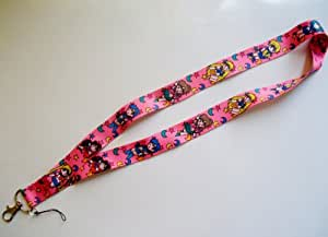Sailormoon Sailor Moon & Scouts Lanyard Key Chain Holder ~Lanyard~