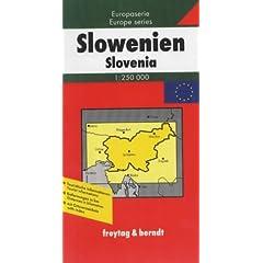 Slovenia Map (Europa)