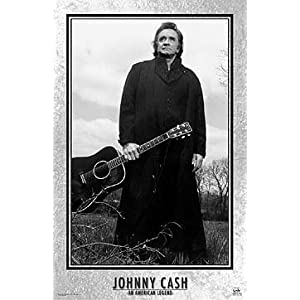 Johnny Cash - An American Legend Music Poster Print, 22x34