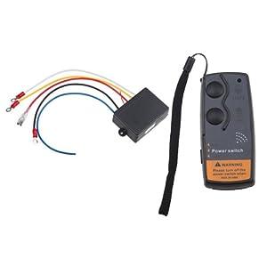 AGPtek® 12V 12 Volt Wireless Winch Remote Control Kit For Truck Jeep ATV by AGPtek