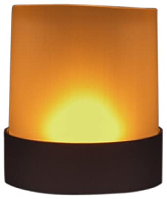 Fortune LED Votive Candle, Amber