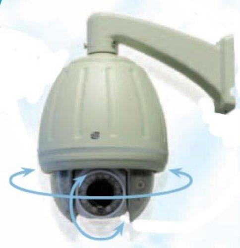 Extel - Caméra couleur IP 3G motorisée angles de balayage : 360° horizontale sur 180° verticale -vision de nuit par