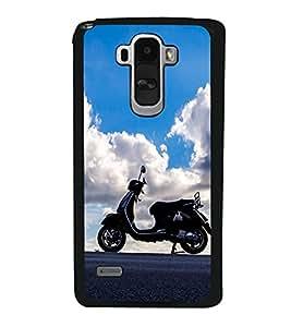 Vizagbeats Bike on Sky background Back Case Cover for LG G4 STYLUS