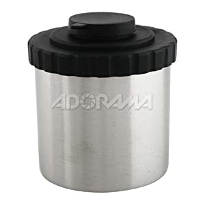 Adorama Stainless Steel Daylight Film Developing Tank for Two Rolls of 35mm Film or One Roll Of 120/220 Film