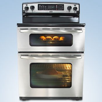 30 smooth top self cleaning double oven electric range223 660 003