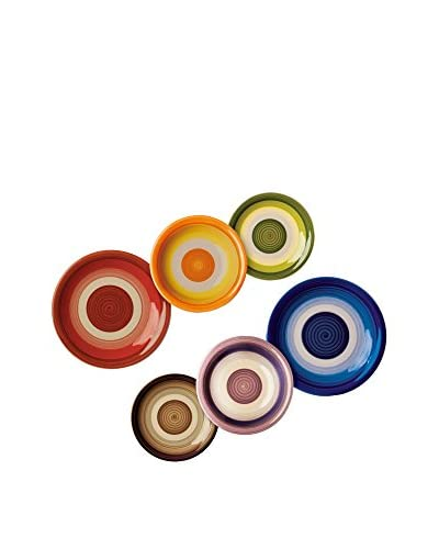 Enjoy Home Vajilla 18 Piezas Circle Arlec Multicolor