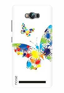 Noise Printed Back Cover Case for Asus Zenfone Max Zc550Kl (HO-40)