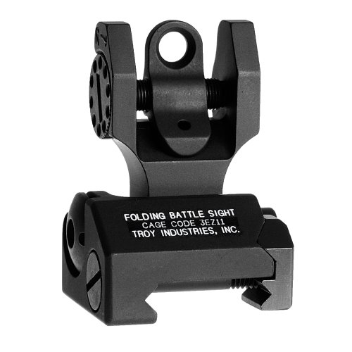 Best Price! Troy Industries Folding Battle Sight Rear