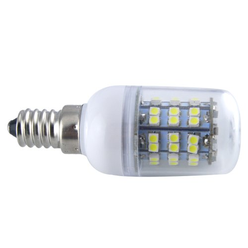Thg E14 Cool White Equivalent Halogen 50W 60 Smd 3528 Led 450Lm Indoor Outdoor Decorative Lighting Corn Light Spotlight Lamp (Pack Of 4)