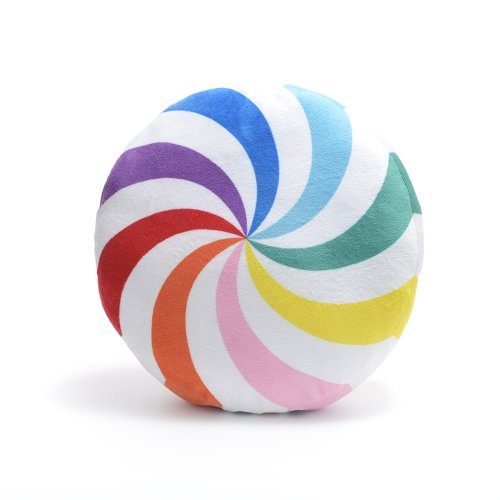 Dylan's Candy Bar Rainbow Starlight Mint Pillow
