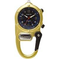 DAKOTA (ダコタ) カラビナウォッチ Mini clip DWC-4017GD LEDマイクロライト 日本限定カラー