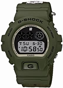 Casio DW6901UD-3 G-Shock Undefeated 30th Anniversary Green Nylon Men Watch NEW