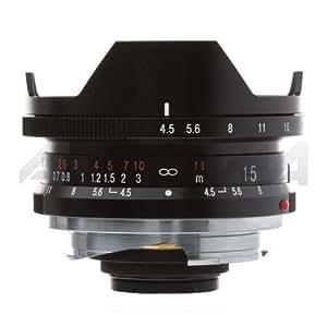 Voigtlander Super Wide Heliar 15mm f/4.5 M Mount Lens - Black