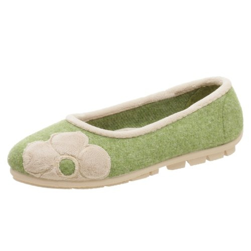 Cheap Jacques Levine Women's Saturn Flower Trim Closed Back Slipper (B000HQKVTC)