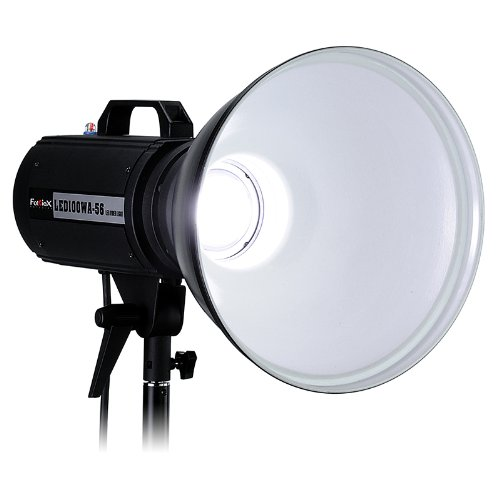 Fotodiox Pro Led100Wa-56 Daylight Studio Led, High-Intensity Led Studio Light For Still And Video - With Dimmable Control, 12V Ac Power Adapter, Light Stand Bracket, Cri > 85