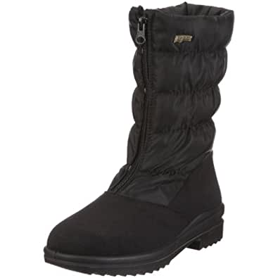 Florett Nessi, Damen Warm gefütterte Schneestiefel, Schwarz (schwarz 60), 36