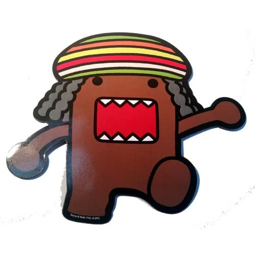 Domo Cartoon Network Tv Show Rasta Jaimaican MAN CAR Magnet