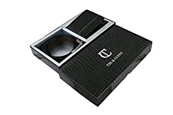 Tie & Cuffs Men's Genuine Leather Combo Of Belt and Wallet