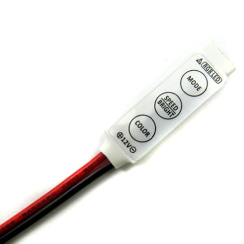 Urparcel Mini Controller Dc 12V For Rgb 5050/3528 Smd Led Lights Strip