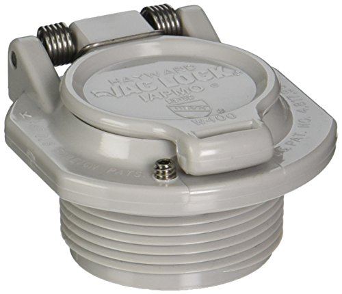Hayward W400BLGP Light Gray Free Rotation Vacuum Lock Safety Wall Fitting Replacement for Hayward Navigator Pool Cleaners (Hayward Vac Lock compare prices)