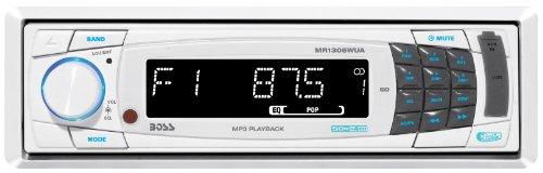 Boss Audio Systems MR1305WUA Marine Digital Media Receiver (White)