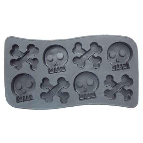 SKULL & BONE/ドクロ アイストレイ(製氷皿)おもしろキッチン雑貨通販/
