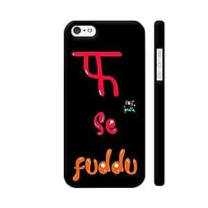 Colorpur F Se Fuddu Designer Mobile Phone Case Back Cover For Apple iPhone 5 / 5s | Artist: 70s pedia