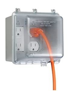 Amazon Com Taymac Mm7440gy B Weatherproof Double Outlet