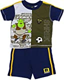 Shrek Shirt with Shorts Outfit - Blue (Size 4T)