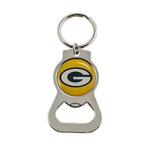 NFL Green Bay Packers Bottle Opener Key Ring (Green Bay Keychain Bottle Opener compare prices)