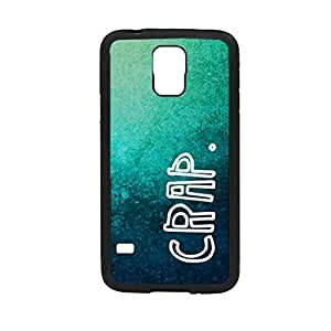 Vibhar printed case back cover for Samsung Galaxy S5 Crappy