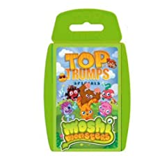 TOP TRUMPS - MOSHI MONSTERS NEW