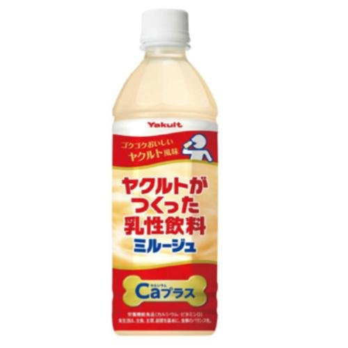 ヤクルトがつくった乳性飲料 ミルージュCa(カルシュウム)500mlX24本