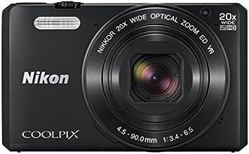 Nikon デジタルカメラ COOLPIX S7000 ブラック S7000BK