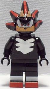 Amazon.com: Custom Lego Sonic the Hedgehog Shadow Minifig Figure Sega