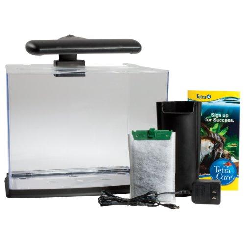 Tetra 29005 glofish aquarium kit 3 gallon new free for Kit aquarium